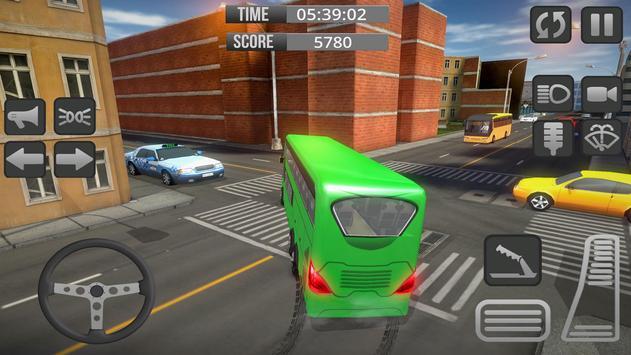 City Bus 3D Driving Simulator screenshot 8