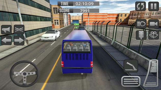 City Bus 3D Driving Simulator screenshot 2