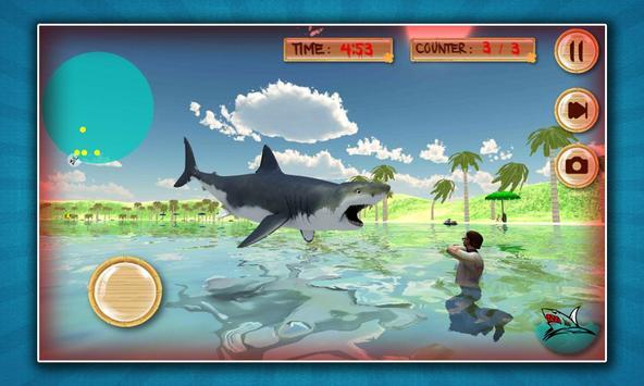 Civil War: Shark Attack 3D poster