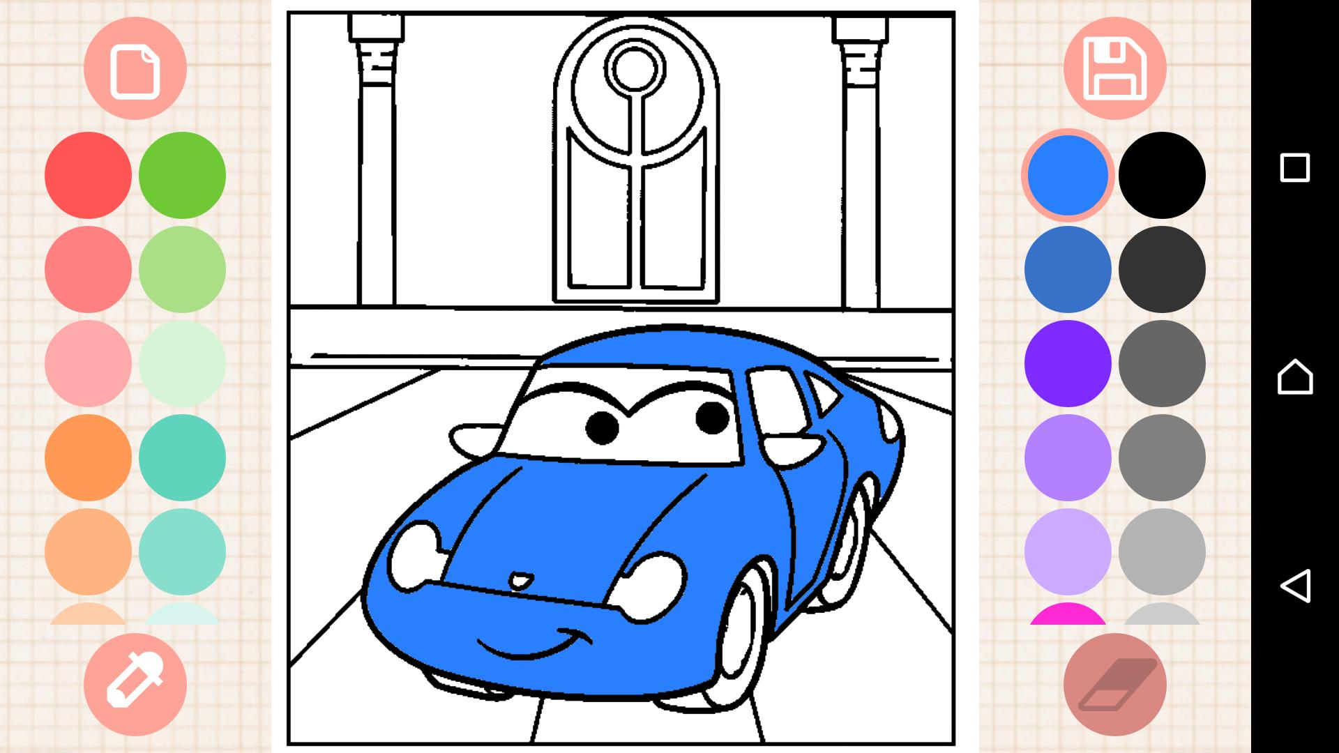 Car Coloring Book for Android - APK Download