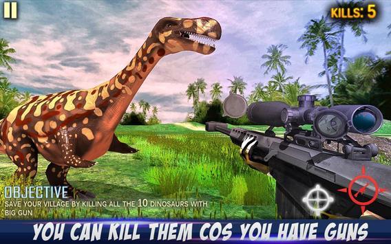 Dino Hunting: Survival Game 3D screenshot 14