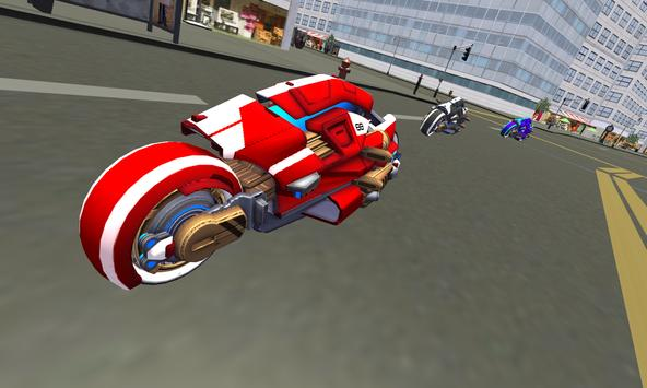Future New York Motorcycle 3D apk screenshot