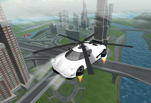 Flying Car Rescue Flight Sim apk screenshot