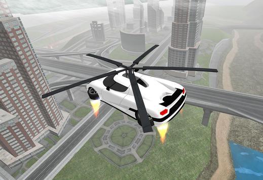 Flying Car Rescue Flight Sim screenshot 8