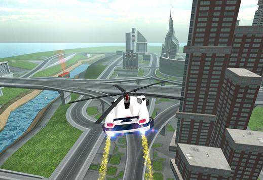 Flying Car Rescue Flight Sim screenshot 10