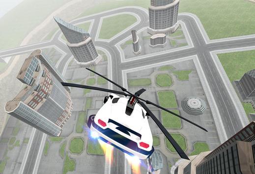 Flying Car Rescue Flight Sim screenshot 3
