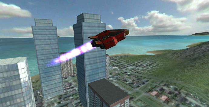 Flying Hovercraft Mobil Car apk screenshot