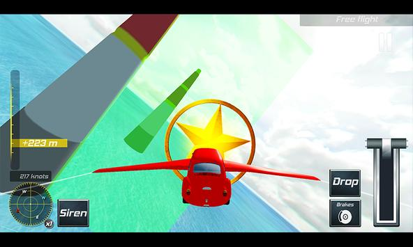 Flying Limo Car Simulator 3D poster