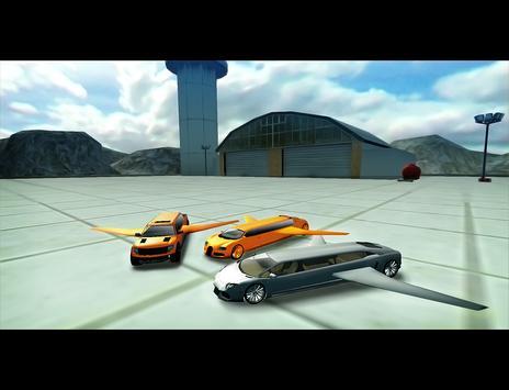 Flying Limo Car Simulator 3D apk screenshot