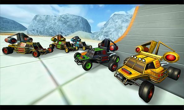 Flying Stunt Car Simulator 3D apk screenshot