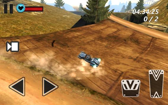 Hoverbike Hill Racer 2017 screenshot 2