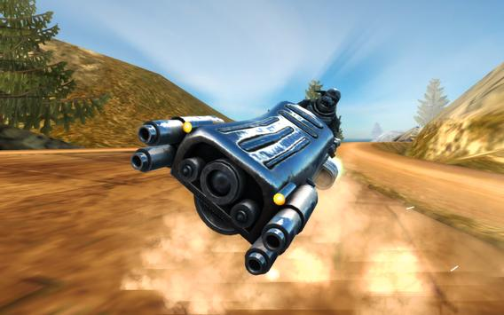 Hoverbike Hill Racer 2017 screenshot 7