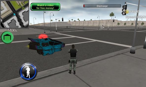 Hover Police Car Crime Unit 3D poster