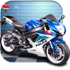 3D Police Motorcycle Race 2016-icoon