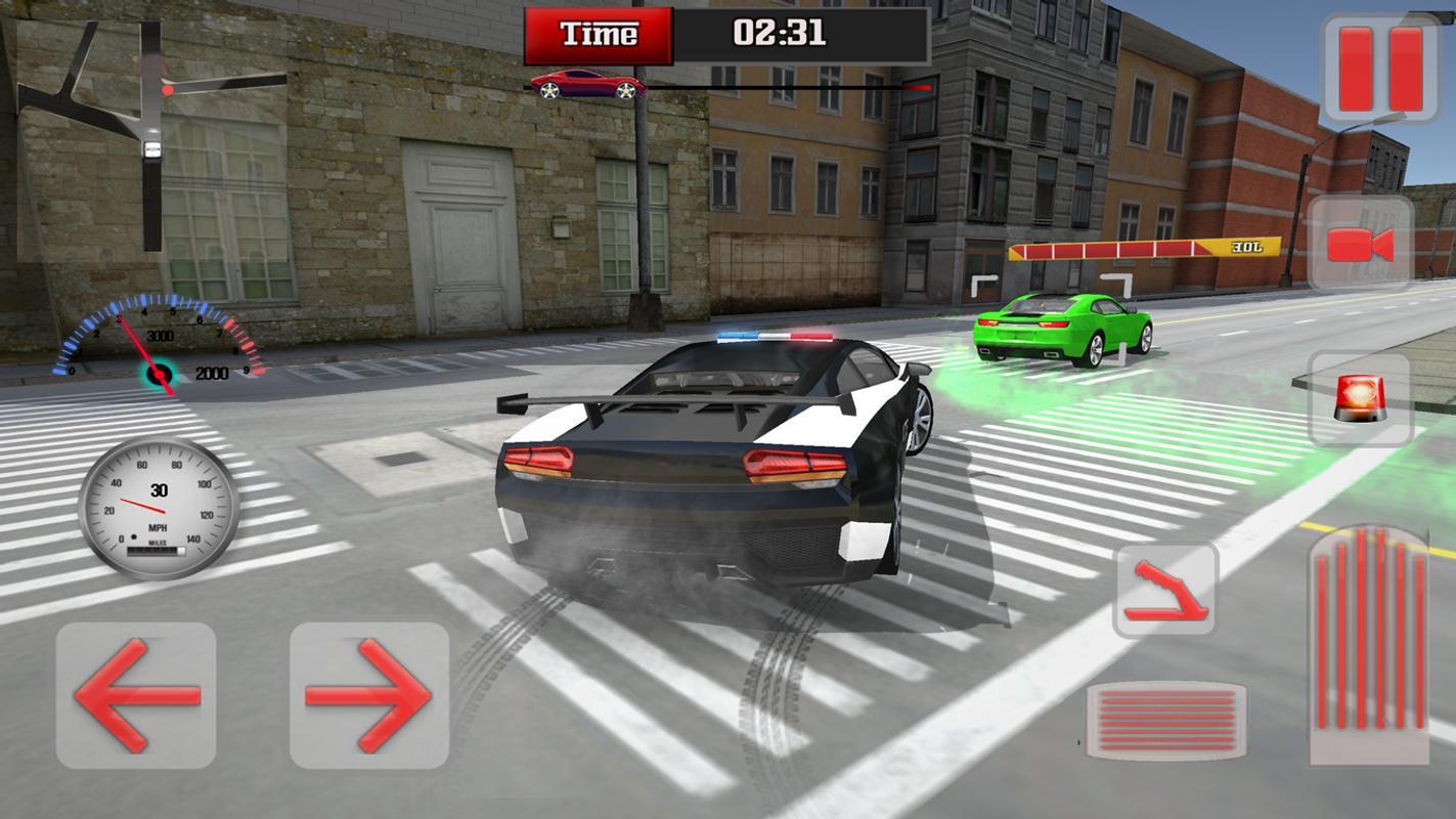 mod apk police car chase