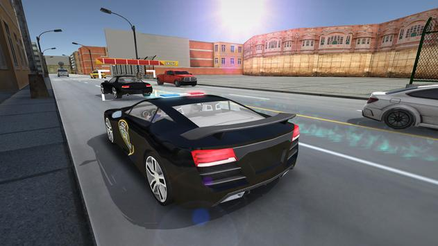 Police Car Chase Simulator 3D poster