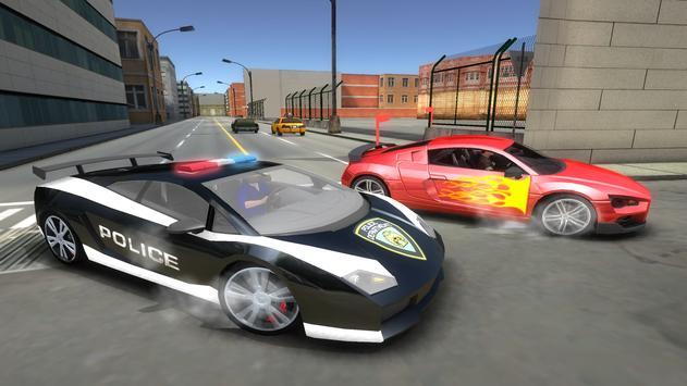 Police Car Chase Simulator 3D apk screenshot