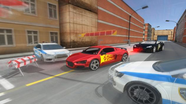 Police Car Chase Simulator 3D screenshot 2