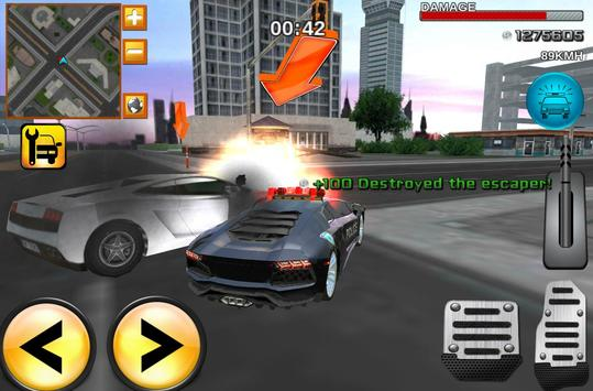 Mad Police Driver Fury 3D poster