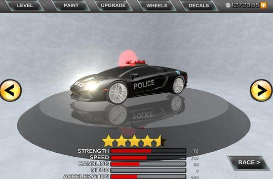 Mad Police Driver Fury 3D screenshot 1