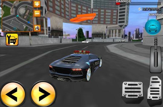 Mad Police Driver Fury 3D screenshot 2