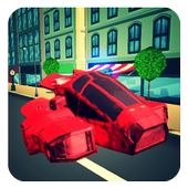 Police Hover Craft City Heroes icon