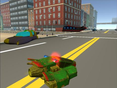 Police Hover Craft City Heroes apk screenshot