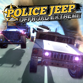 Police Jeep Offroad Extreme icon