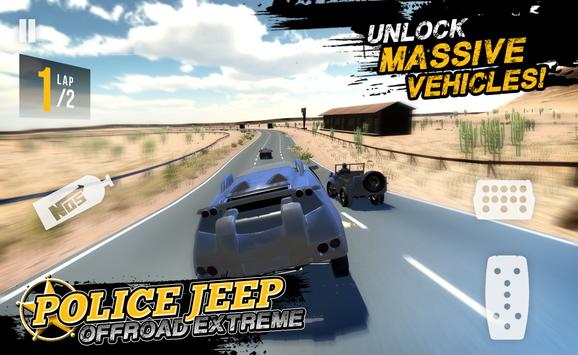 Police Jeep Offroad Extreme apk screenshot