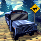 Police Prison Bus Hill Driver icon