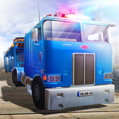 Police Truck Transporter 2016 icon