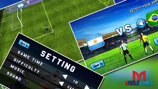 Real 3D Football: Soccer Game apk screenshot