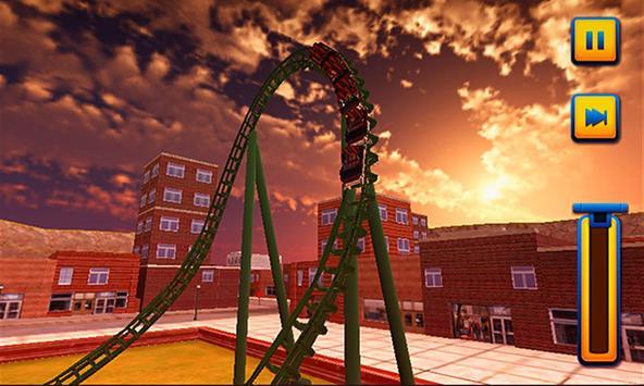 Roller Coaster 3D Simulator poster