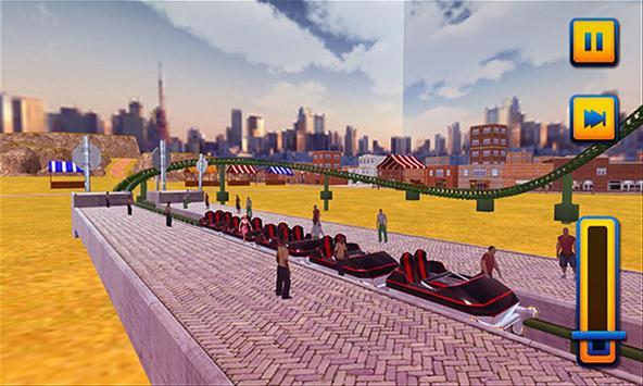 Roller Coaster 3D Simulator screenshot 16