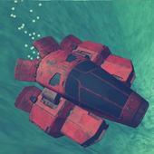 Sunken Underwater Hybrid Car icon