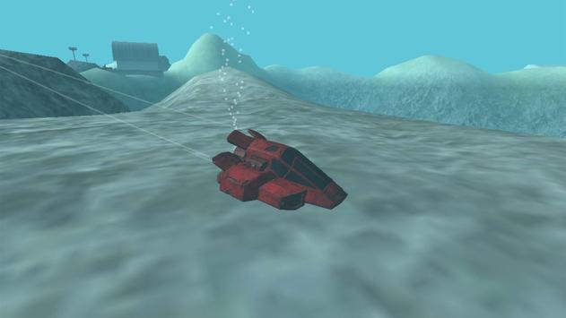 Sunken Underwater Hybrid Car screenshot 2