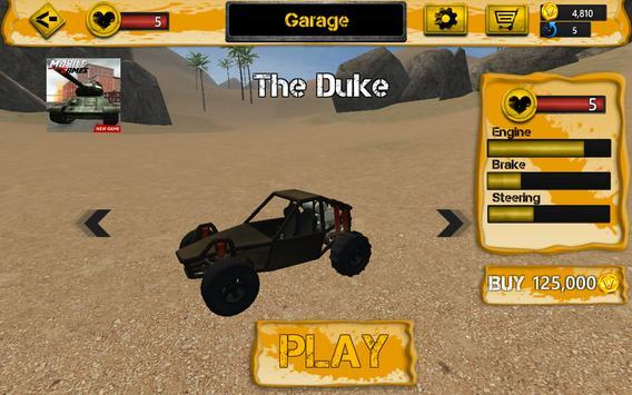 Sahara Prado : Desert Racing apk screenshot