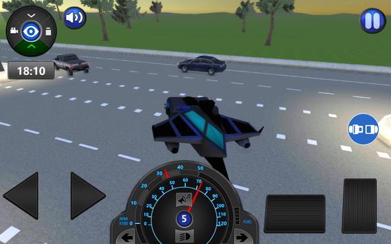 Sci Fi Car Driving School 3D apk screenshot
