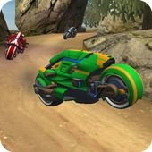 Sci Fi Bike Hill Racer 2017 icon