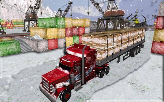 Off-road Truck: Snow Hill 2017 apk screenshot