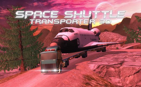 Space Shuttle Transporter 3D poster