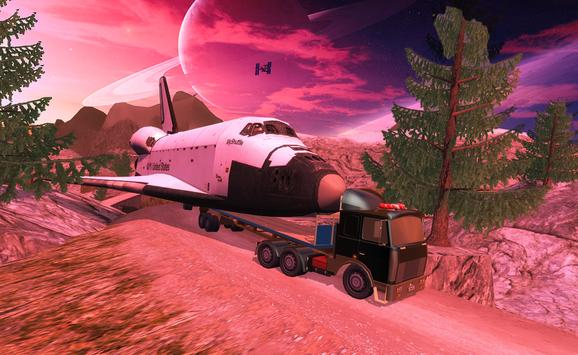 Space Shuttle Transporter 3D apk screenshot