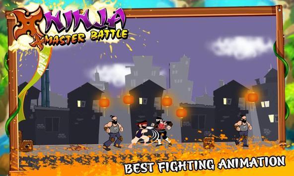 Ninja Master Battle apk screenshot