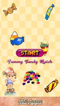 Yummy Candy Match poster
