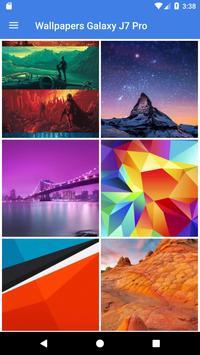 Wallpapers Galaxy J7 Pro apk screenshot