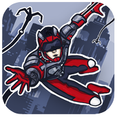 Rope Hero: Crime Busters icon