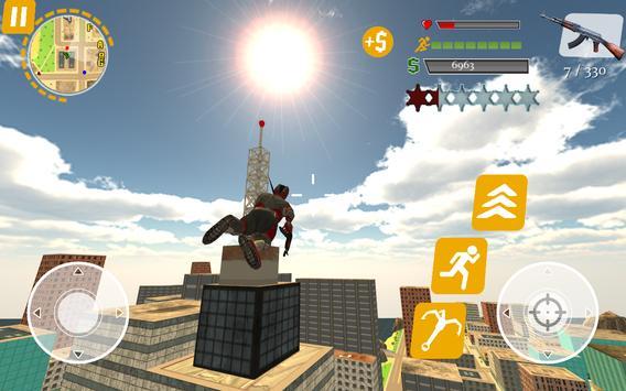 Rope Hero: Crime Busters screenshot 10