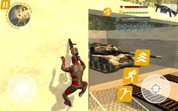 Rope Hero: Crime Busters screenshot 11