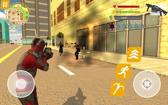 Rope Hero: Crime Busters screenshot 4