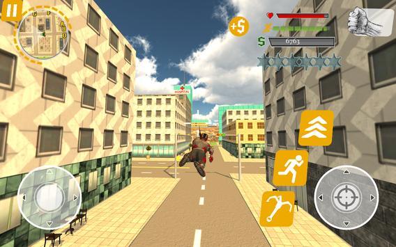 Rope Hero: Crime Busters screenshot 7